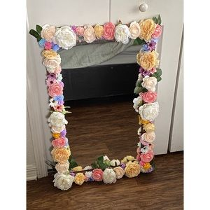 Other - Decorative Wooden Accent Mirror